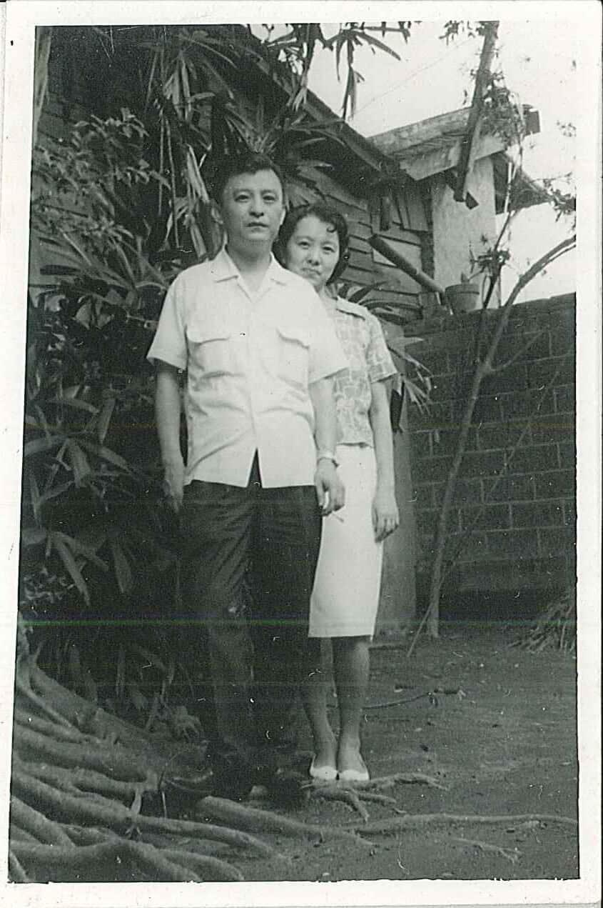 野草居食屋-1963.06.16陳玉麟教授夫婦