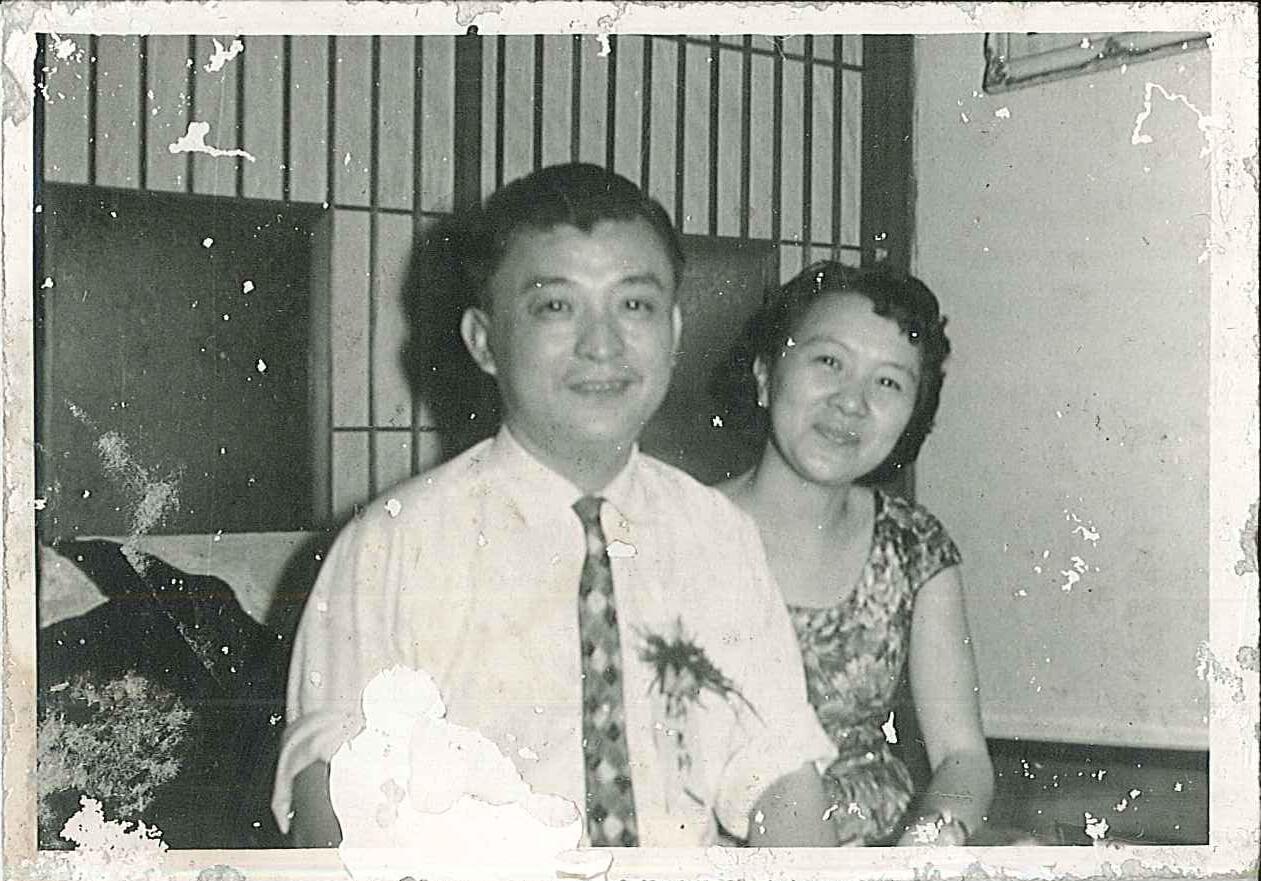 1964.03.28陳玉麟教授夫婦