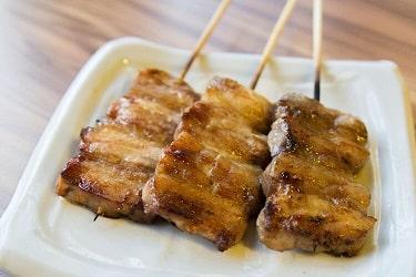 野草居食屋_菜單_四方雞肉串燒