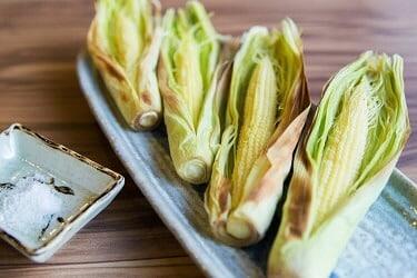 野草居食屋_菜單_帶皮玉米筍