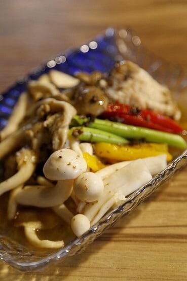 松露和風烤鮮菇