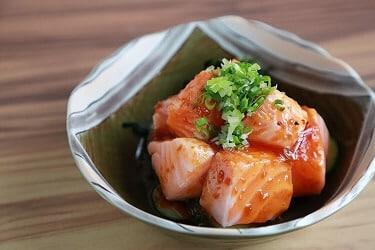 野草居食屋_菜單_辣味生鮭魚