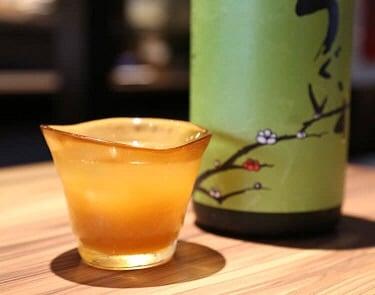 野草居食屋_酒單-庭之鶯-特選果肉梅酒-單杯