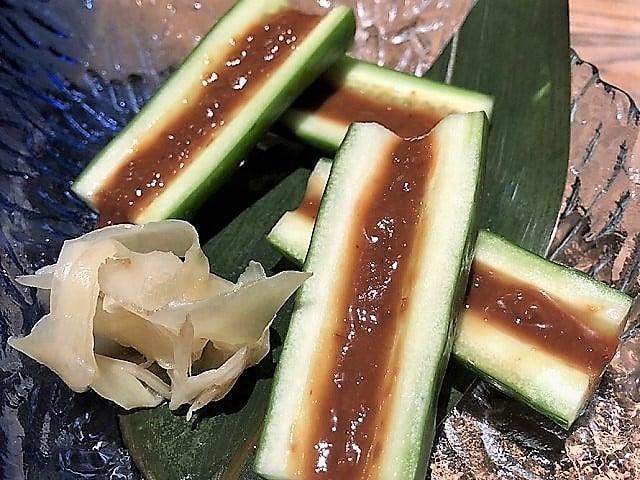 野草居食屋_菜單_甘辛豆醬黃瓜