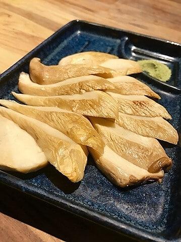 野草居食屋_菜單_茶鹽杏鮑菇