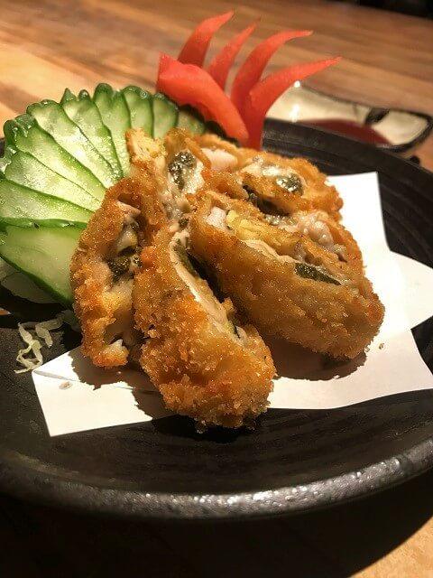 野草居食屋_菜單_酥炸廣島大牡蠣
