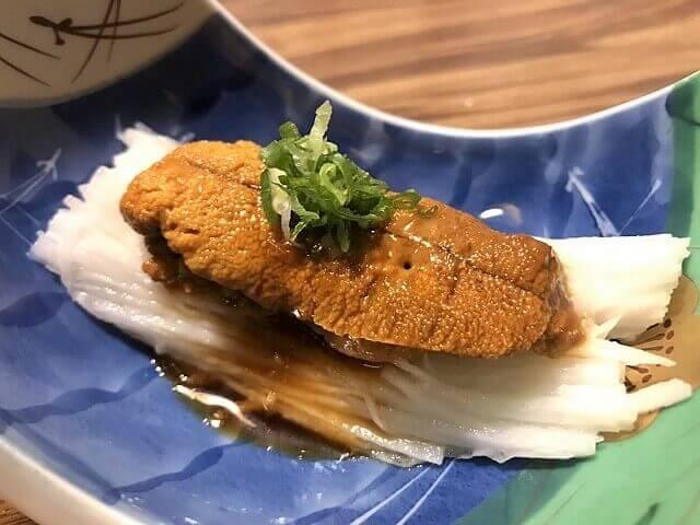 野草居食屋_菜單_山藥生海膽