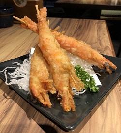野草居食屋_菜單_酥脆檸檬胡椒軟殼蝦