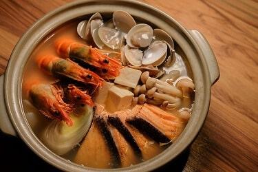 野草居食屋-菜單-石狩鍋
