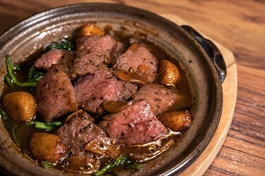 野草居食屋-菜單-胡椒奶油炒牛肉
