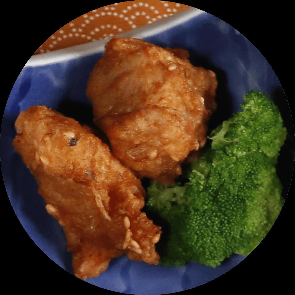 野草居食屋-萬新鐵路便當-揚物-日式炸雞塊