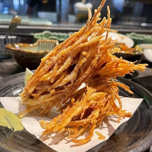 野草居食屋-菜單-炸魚簍